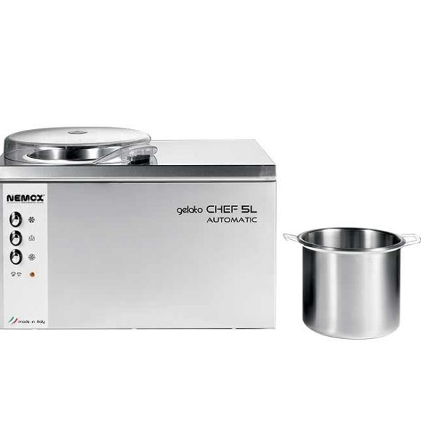 Gelato Chef 5L מכונת גלידה ביתית בונדיגו