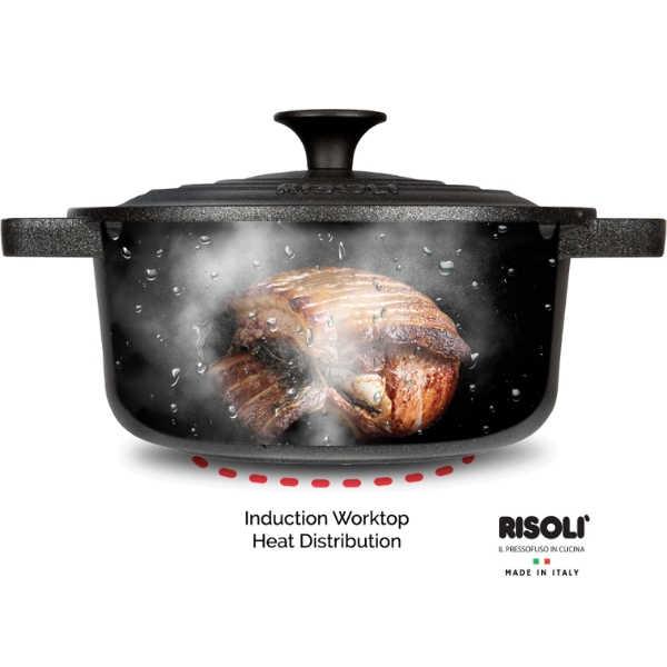 כלי בישול RISOLI תוצרת איטליה